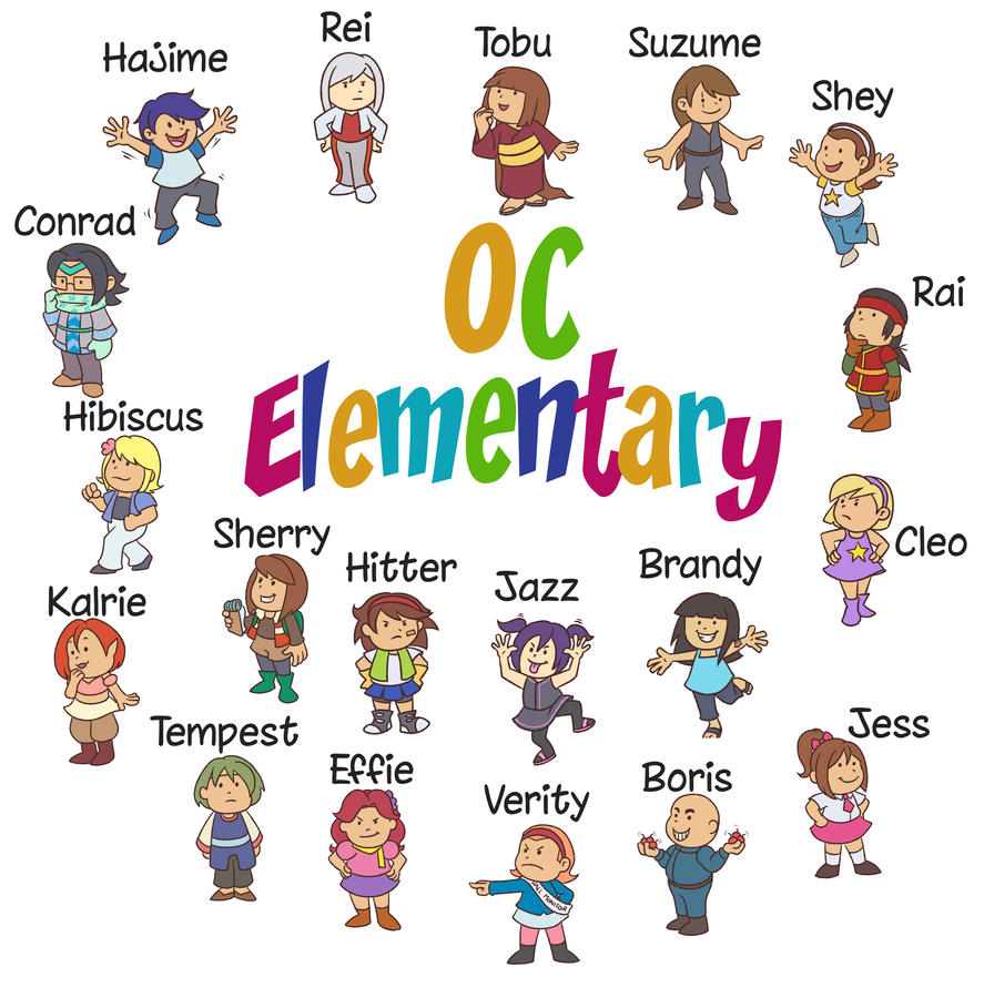 OC Elementary by Card-Queen