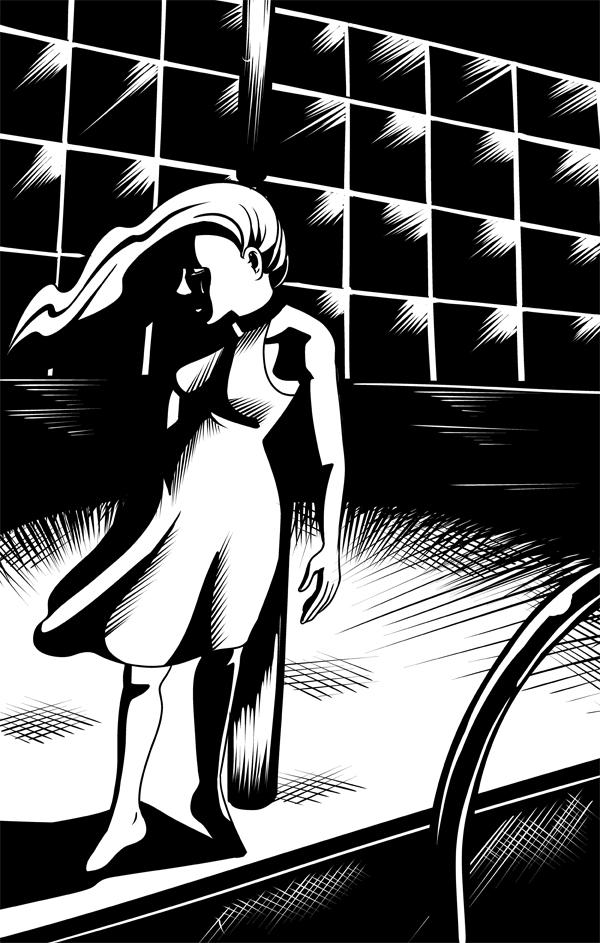 Creeping Shadows by Card-Queen