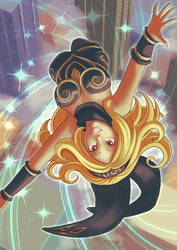 Kat in the Sky by Card-Queen