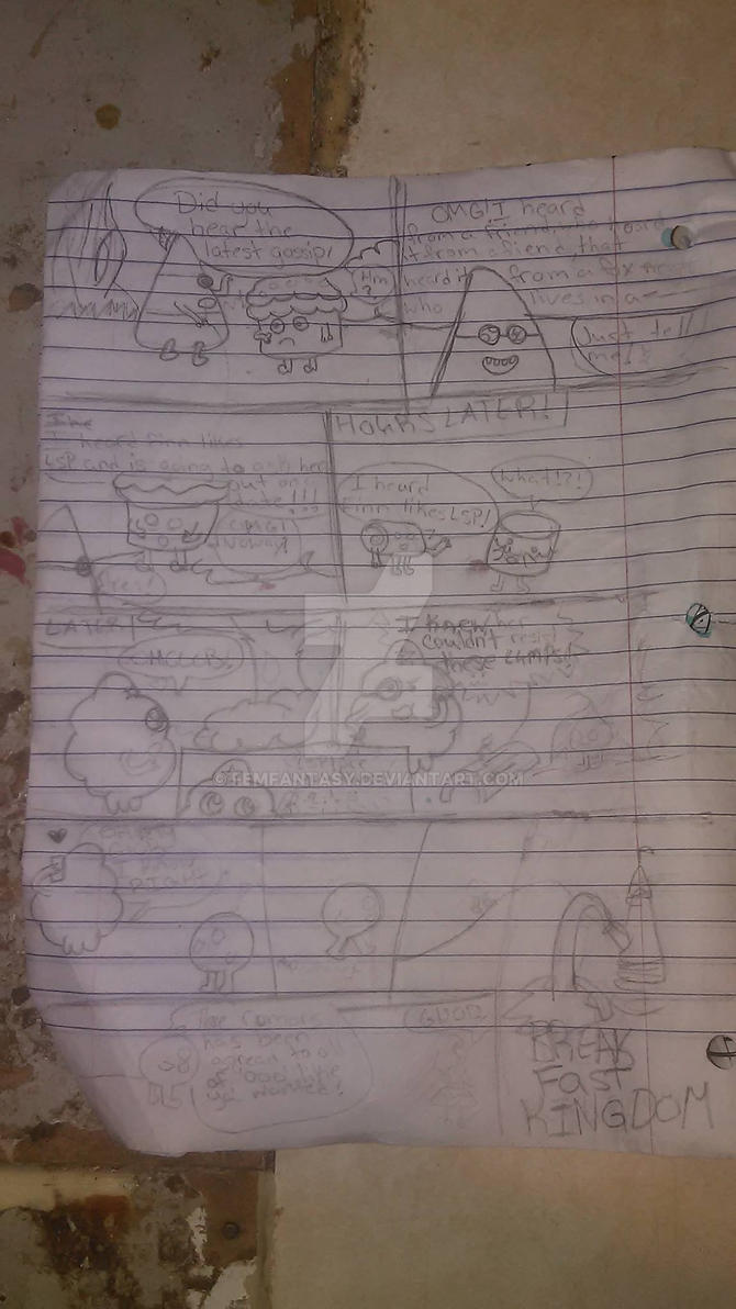 Adventure time Comic 1 by FemFantasy
