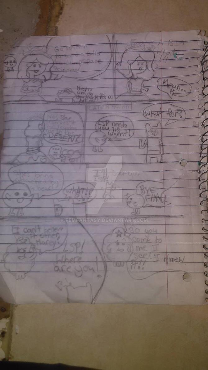 Adventure Time Comic 2 by FemFantasy