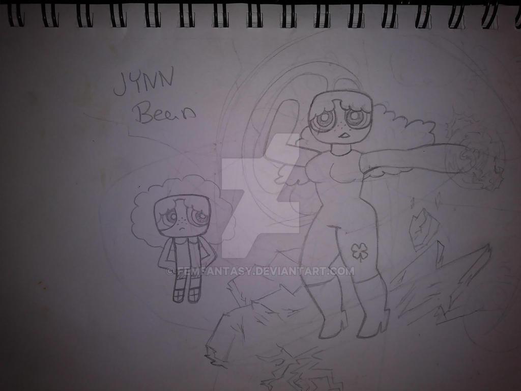 Jynn Bean PowerPuff Girl OC by FemFantasy