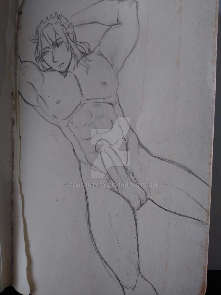 Ren Kouen naked and sexy by FemFantasy