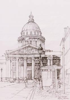 Panteon, Paris