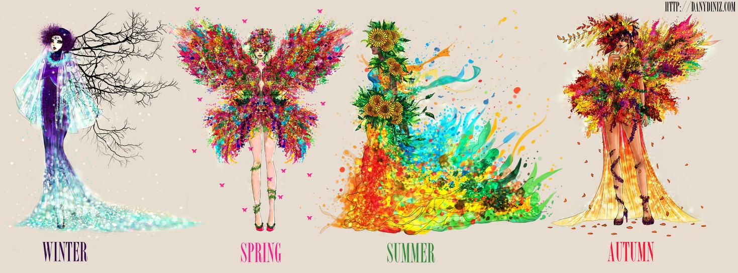 Four Seasons by danydiniz