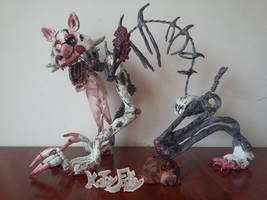 Polymer clay Drawkill Mangle (1) by KateyFoxy