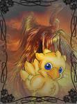 Chocobo and Phoenix by RufusShinrareno