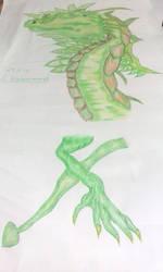 Wind Dragon by RufusShinrareno