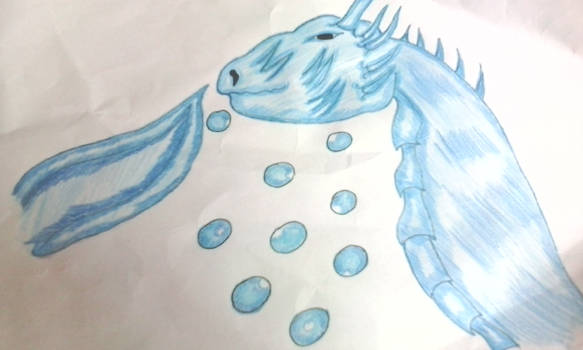 water dragon by RufusShinrareno