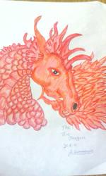 fire dragon by RufusShinrareno