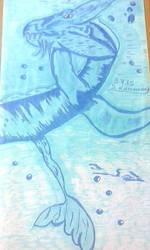water sea dragon by RufusShinrareno