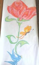 the rose by RufusShinrareno