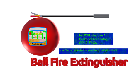 Ball shaped Fire Extinguisher
