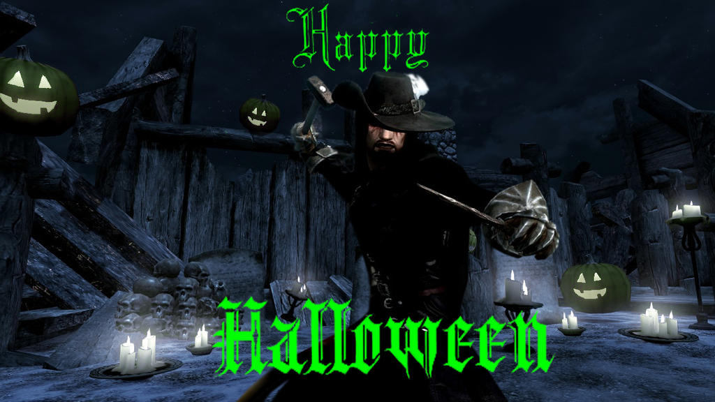 Halloween in Skyrim by CarrionPrince