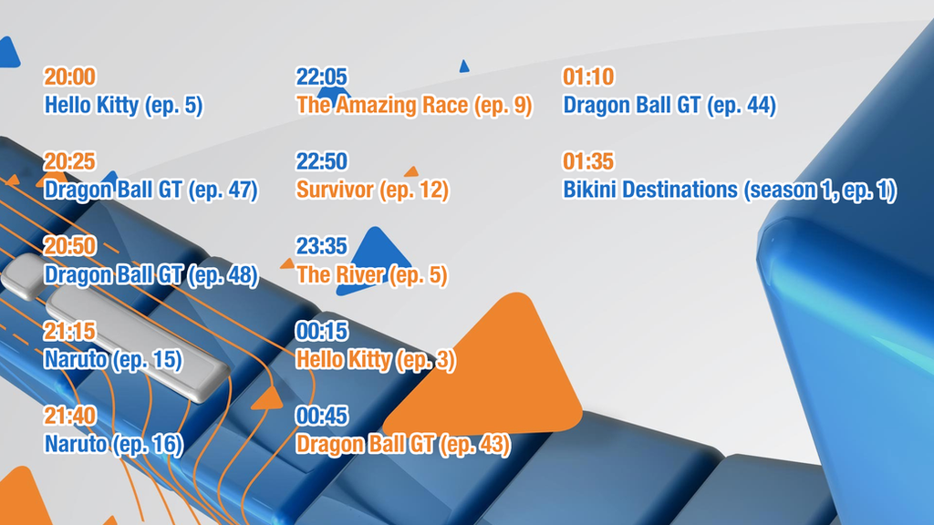 Animax CEE Last Schedule (3/31/2014) by Catali2016