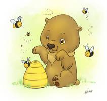Honey Bear by horseartaddict