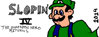 Colored Miiverse Doodle - Slopin' IV by JusticeColde
