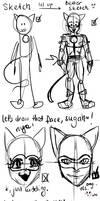 Let's draw Chatty boy~