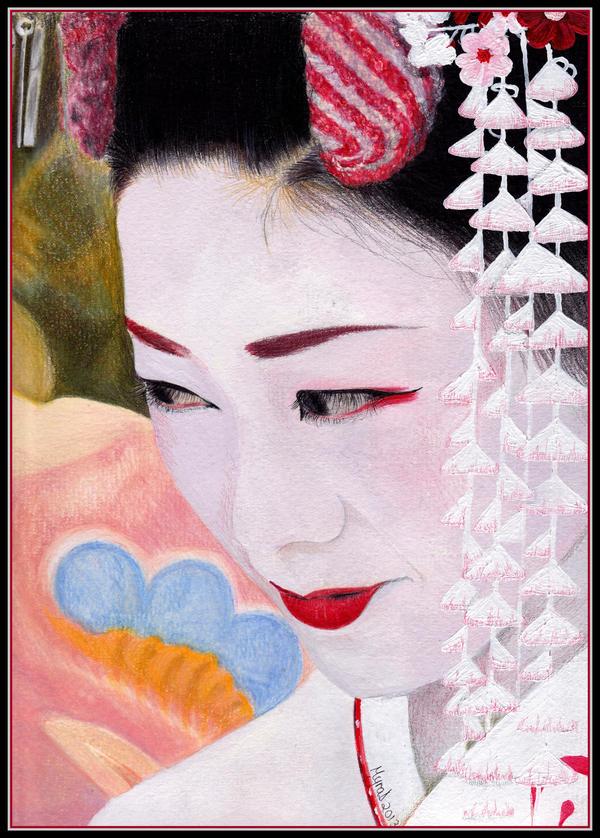 Geisha  by Sekhmets-child