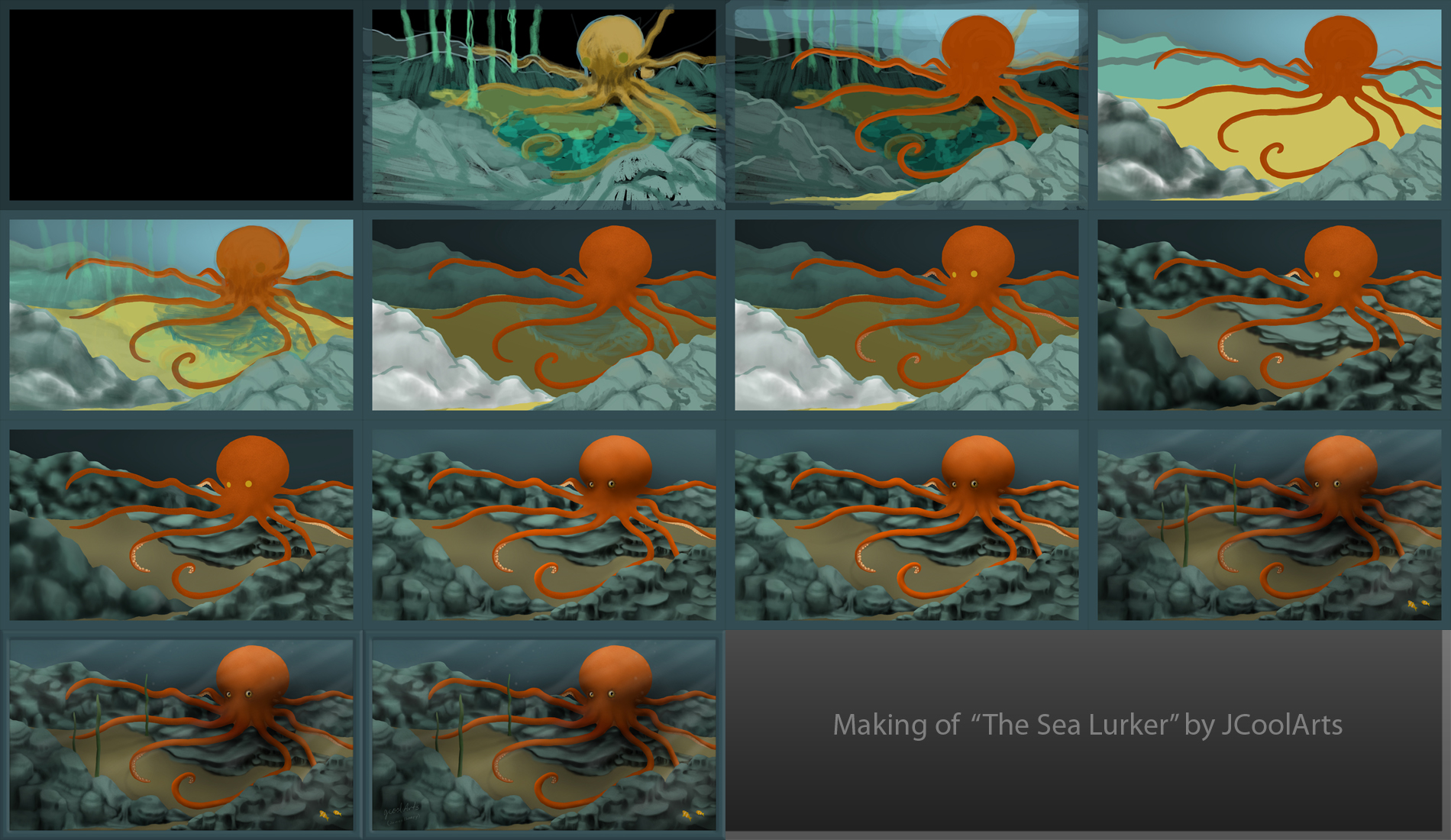 Critique on an octopus.