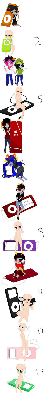 iPod Trolls x3 by InSaNiTyAnDsAnItY