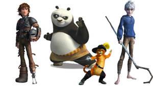 The Heroes of Dreamworks by AlastorHaddock