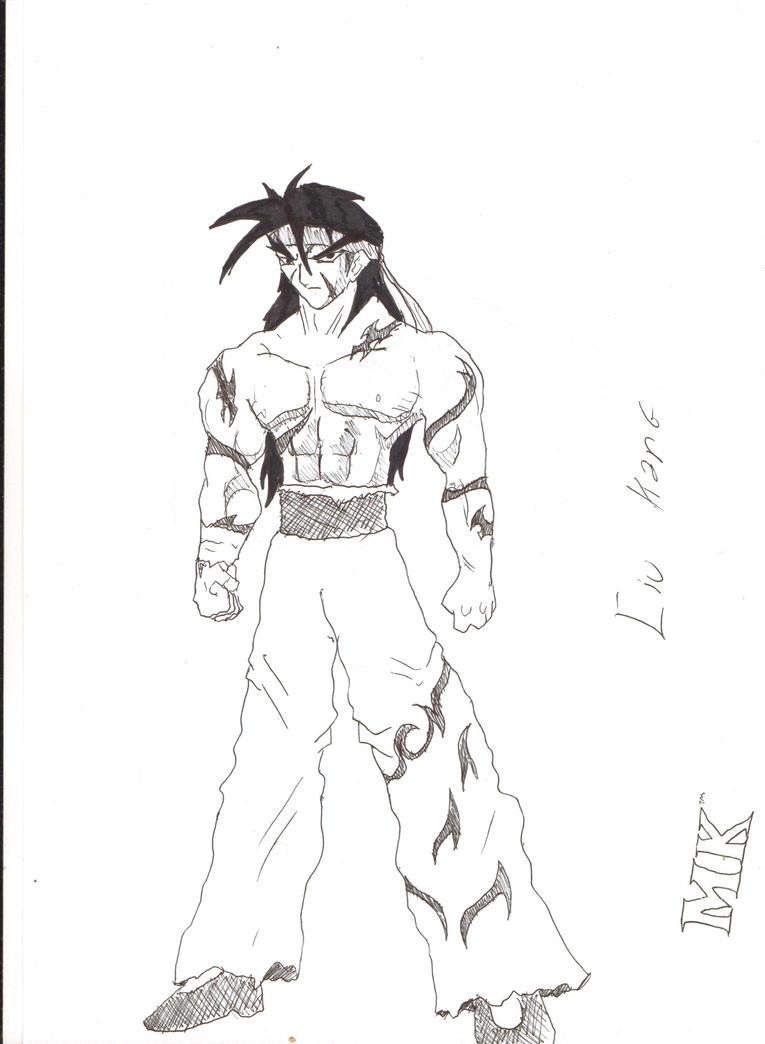 Liu Kang Tattoo: Liu Kang In FULL Anime Styled By Kaiserkleylson On DeviantArt
