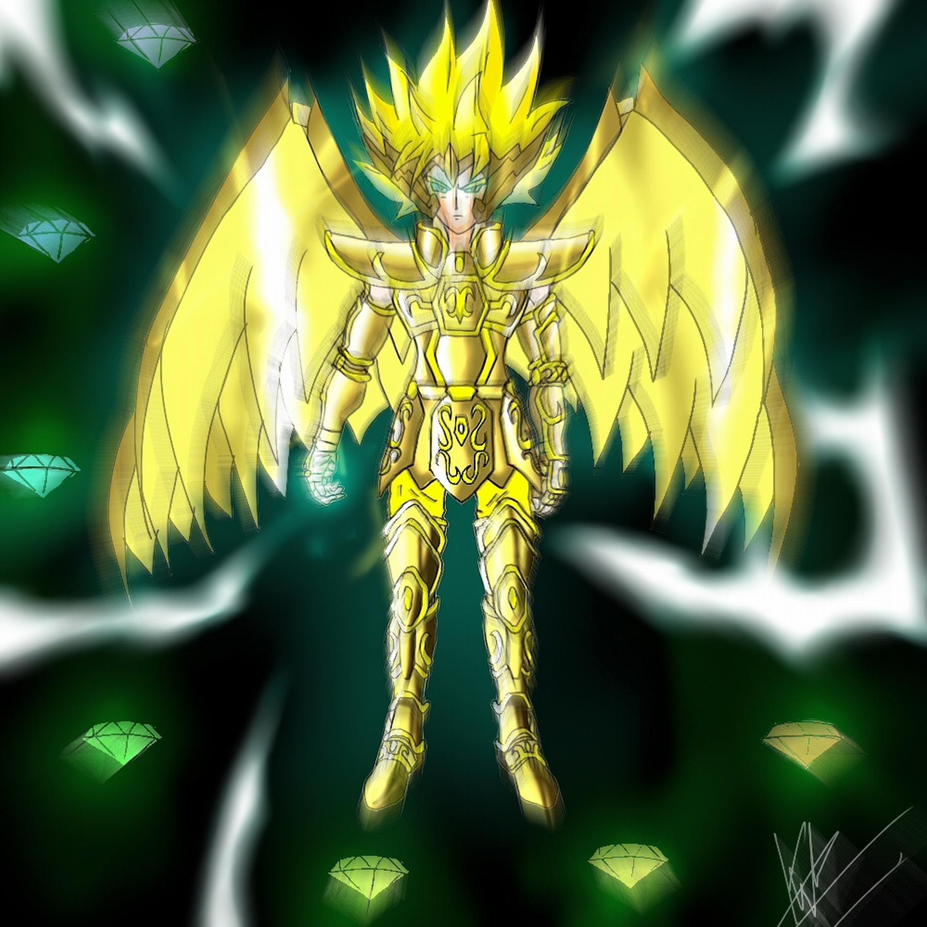 Goku Wallpaper Hd: Sagitarius, Chaos Emerald-HD By