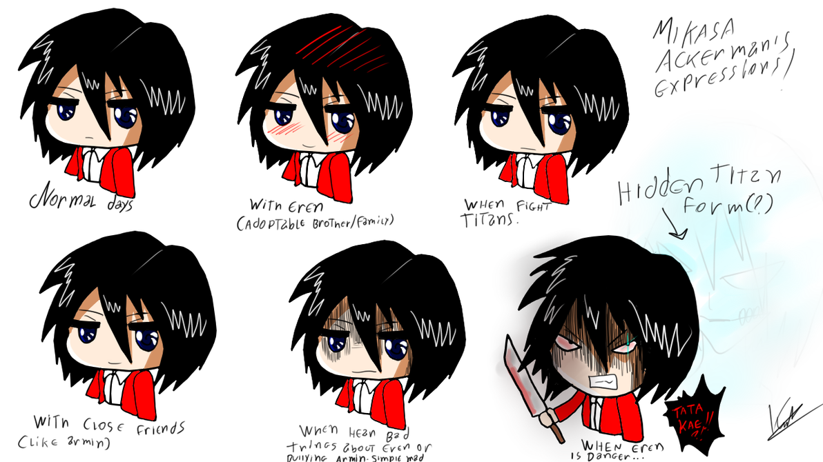 Mikasa ackerman art 7