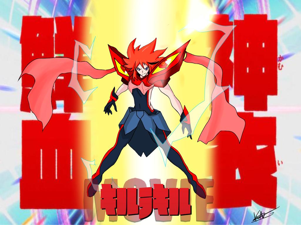 Kill la Kill - MOVIE: Ex Kamui Senketsu by kaiserkleylson