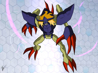 Digimon TRI EVO Sequence - Diablomon by kaiserkleylson