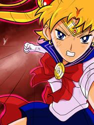 Sailor Moon is breaking her limits by kaiserkleylson