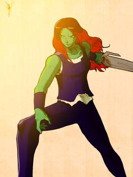 The Marvel VS. Capcom 2 Hyper Portraits - Gamora