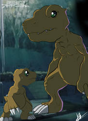 Agumon: The Present and the Past