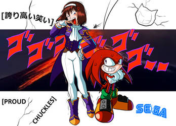 [PROUD CHUCKLES] - Sonic X Sakura Taisen Crossover