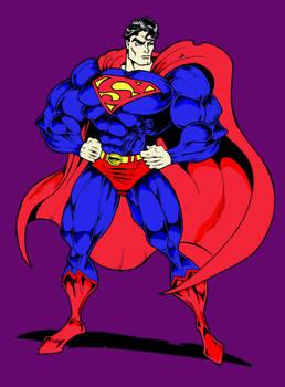Classic Superman Buffed up