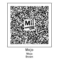 Tomodachi Life code for my Mii by MojoBrown