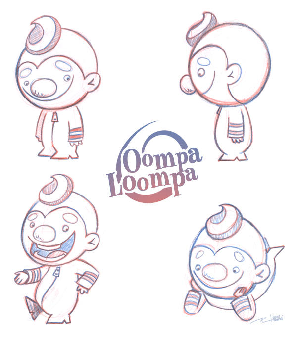 oompa loompa coloring pages - photo#17