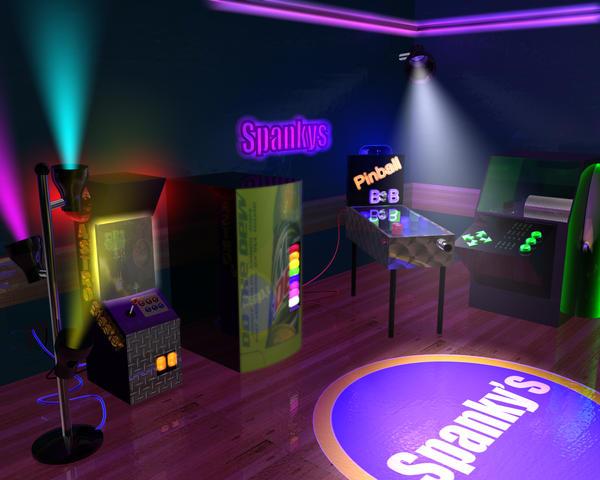 Spanky's 3d Gameroom by NeoZeroX