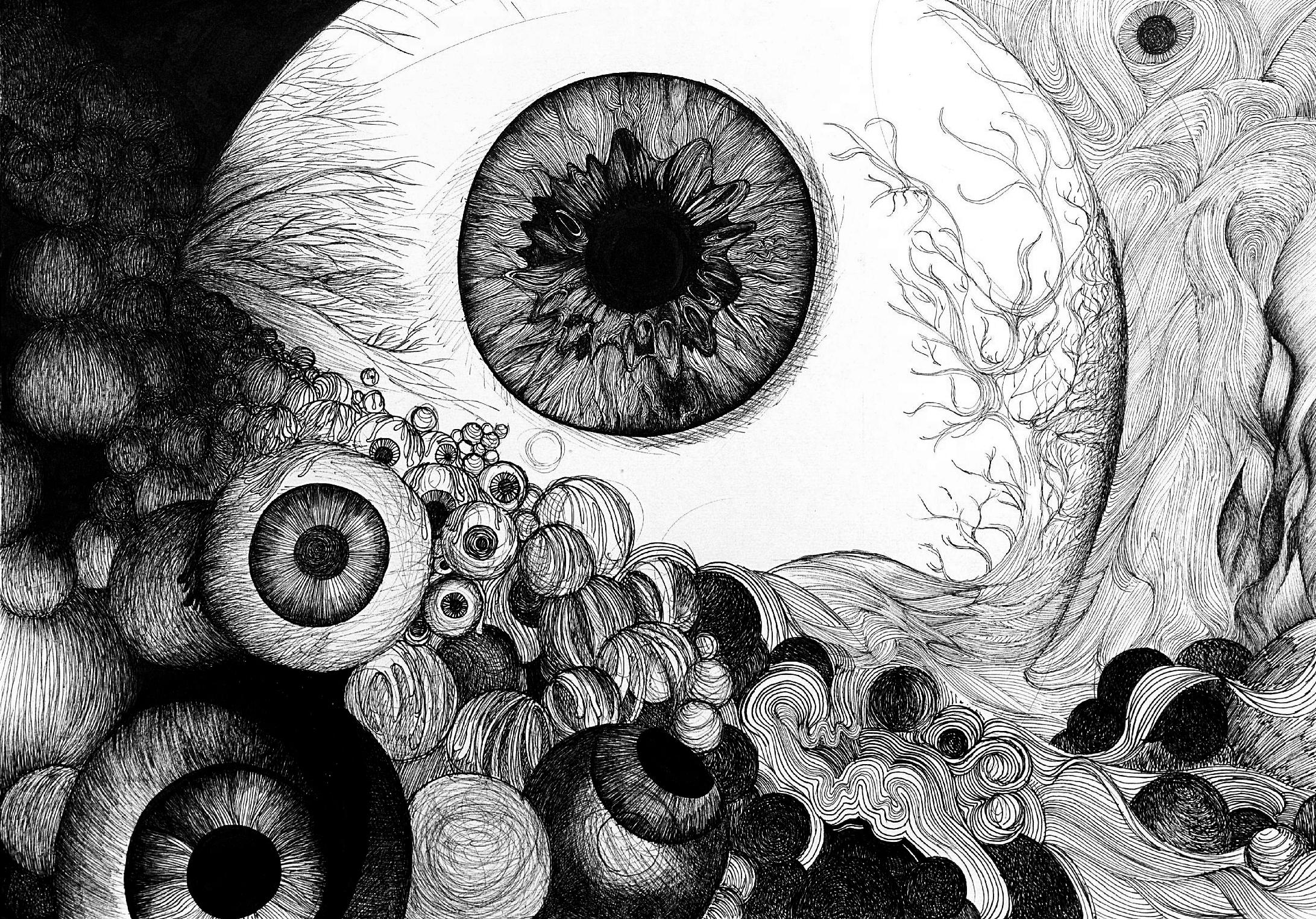 Eyeballs by marokien