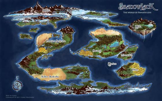 Ramathian World Map