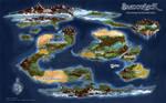 Ramathian World Map by shriker