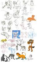 Sketch Dump Oct. 14 2007 by stuffed
