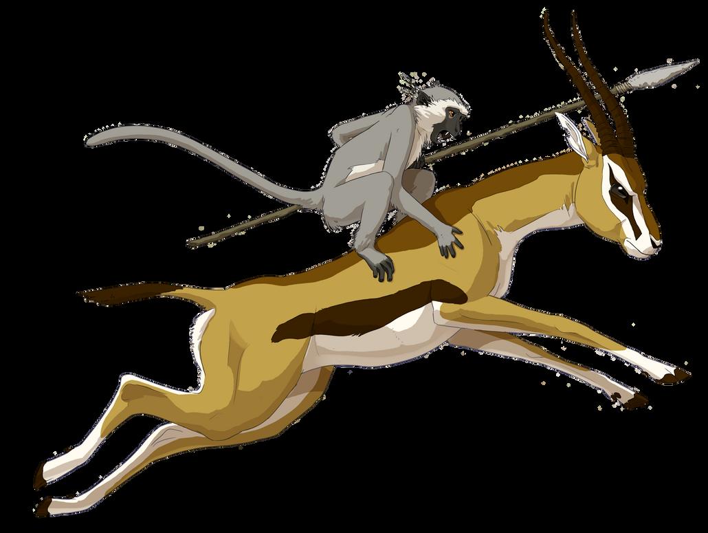 Gazelle Rider by stuffed on DeviantArt