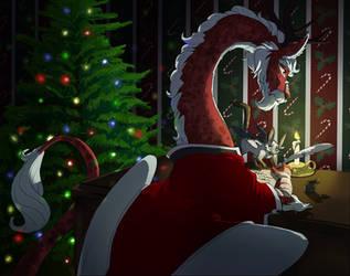 Santa Claws 2017 by stuffed