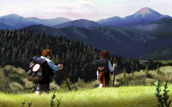 Leaving the Shire