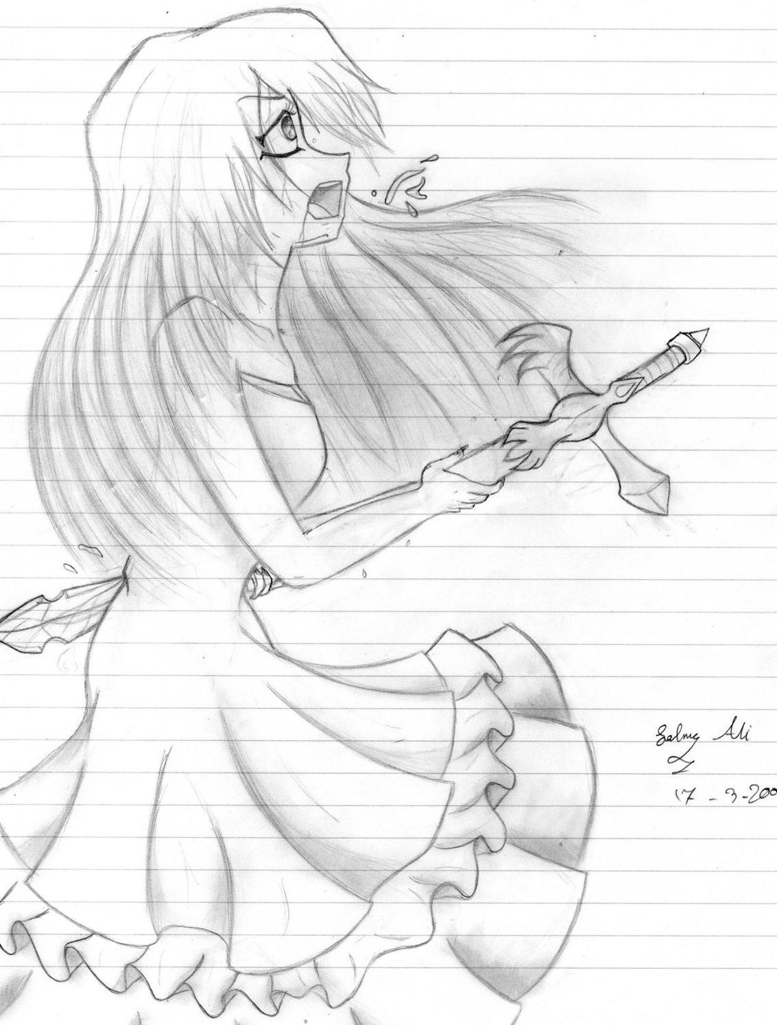 Anime girl dies cartoon galleries