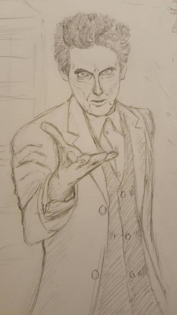 Peter Capaldi sketch