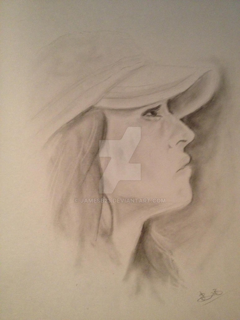 Portait drawing by Jamesb23
