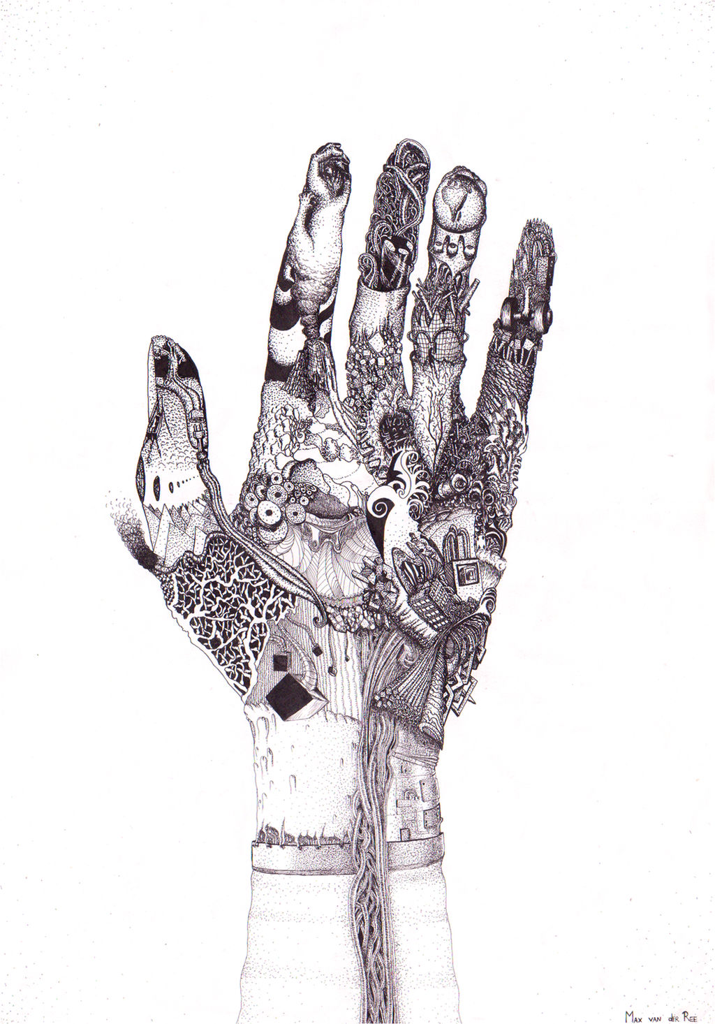 Abstract Hand